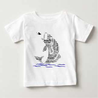 Fly Fishing Custom Gifts & Novelties Baby T-Shirt