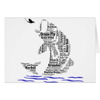Fly Fishing Custom Gifts & Novelties Card
