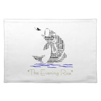 Fly Fishing Custom Gifts & Novelties Placemat
