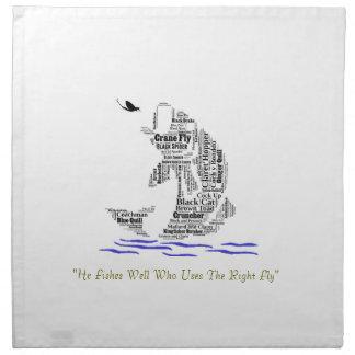 Fly Fishing Custom Gifts & Novelties Printed Napkins