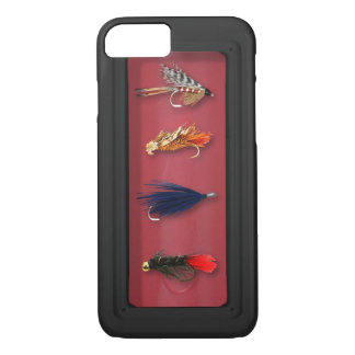 Fly Fishing flies iPhone 8/7 Case
