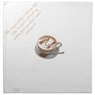 Fly Fishing Gifts Napkin