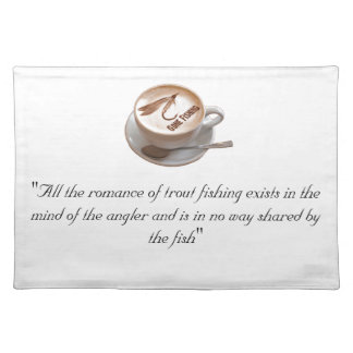 Fly Fishing Gifts Placemat