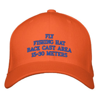 FLY FISHING HAT EMBROIDERED CAP