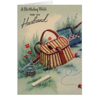 Fly Fishing Husband Birthday Greeting Cards