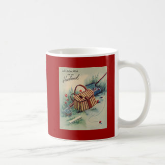Fly Fishing Husband Birthday Coffee Mugs