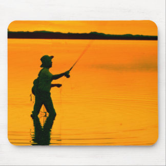 Fly Fishing image for Mouse-Pad Mouse Pad