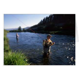 Fly Fishing in Colorado Card