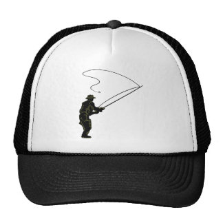Fly Fishing in Waders Mesh Hat