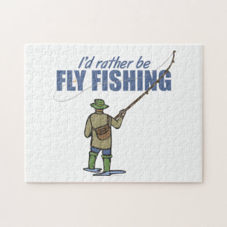 Fly Fishing in Waders Puzzles