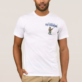 Fly Fishing in Waders T-Shirt
