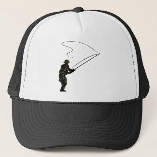Fly Fishing in Waders Trucker Hat