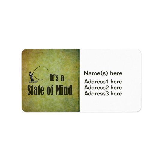 Fly Fishing | It's a State of Mind Label