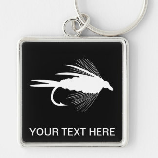 Fly Fishing lure to Personalize Key Ring
