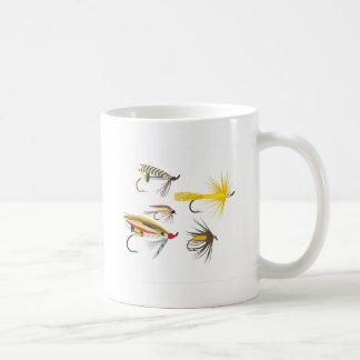Fly Fishing Lures Coffee Mugs