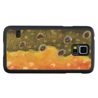Fly Fishing Maple Galaxy S5 Slim Case