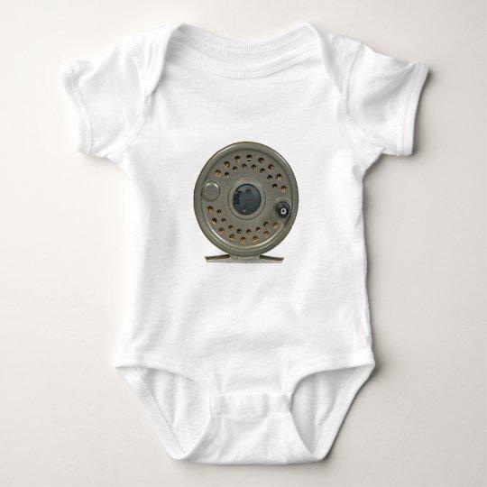 Fly Fishing Reel Baby Bodysuit