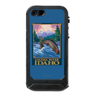 Fly Fishing Scene - Lochsa River, Idaho Incipio ATLAS ID™ iPhone 5 Case