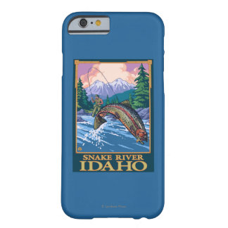 Fly Fishing Scene - Snake River, Idaho Barely There iPhone 6 Case
