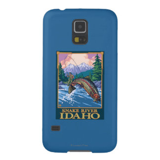 Fly Fishing Scene - Snake River, Idaho Galaxy S5 Case