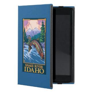 Fly Fishing Scene - Snake River, Idaho iPad Mini Cover