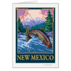 Fly Fishing SceneNew Mexico Card