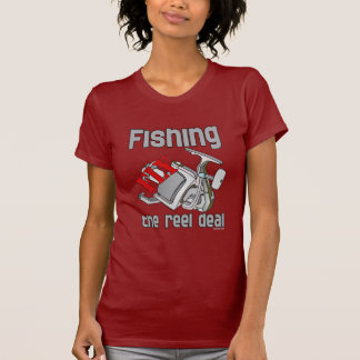 Fly  Fishing The Reel Deal Tshirt