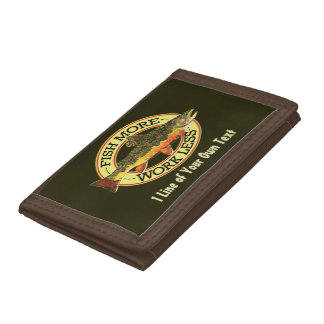 Fly Fishing Trifold Wallets
