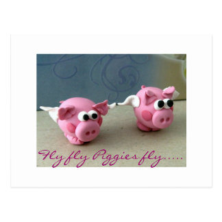 Fly fly Piggies fly Post Cards