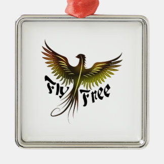 Fly Free Christmas Ornament