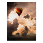 Fly Free My Hot Air Balloon – The Journey Edition Postcard