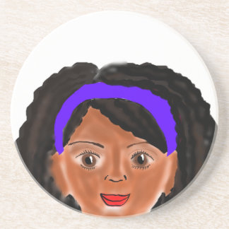 Fly Girl Beverage Coasters