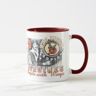 fly girls wasp mug