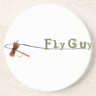 Fly Guy Beverage Coasters