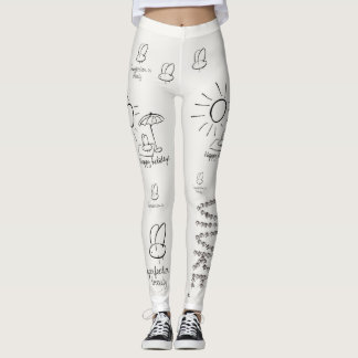 Fly happiness leggings