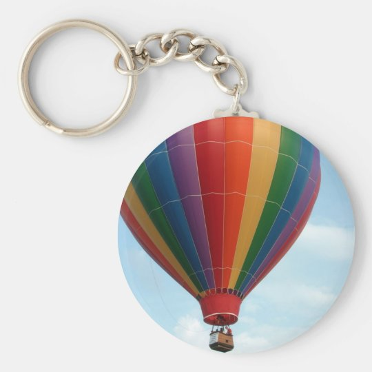 Fly High Basic Round Button Key Ring