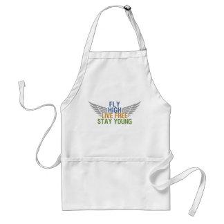 FLY HIGH custom apron – choose style & color