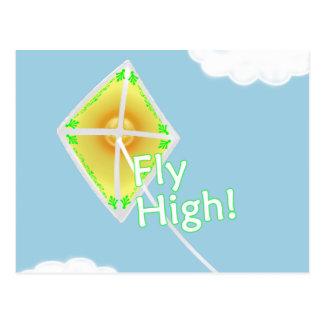 Fly High Kite Postcard