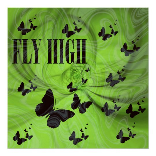 Fly High Poster