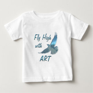 Fly High with Art Baby T-Shirt