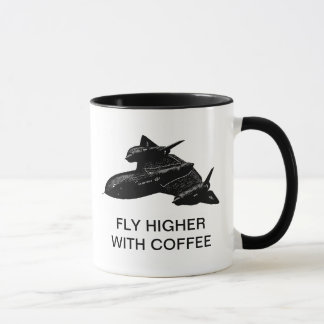 FLY HIGHER WITH COFFEE MUG