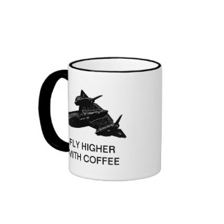 FLY HIGHER WITH COFFEE COFFEE MUG