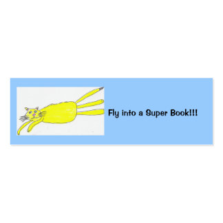 Fly into a Super Book!!! Pack Of Skinny Business Cards