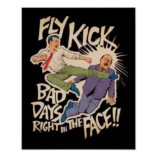 Fly Kick Poster