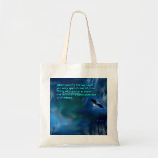 Fly Like an Eagle, Gary Revel Concept Art Tote Bag