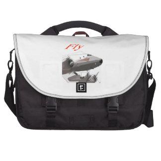 Fly  Lockheed Constellation Laptop Messenger Bag