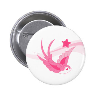 Fly me Away 6 Cm Round Badge