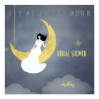 Fly Me to The Moon 2 Bridal Shower Card