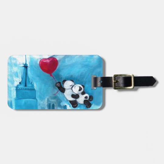 Fly me to the Moon Luggage Tag