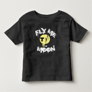 FLY ME TO THE MOON - lyric kids T-shirt